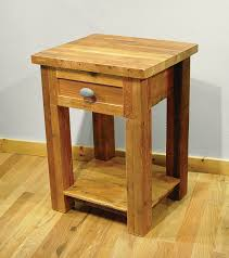 furniture unique reclaimed wood nightstand with fabulous design