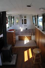 Small Boat Interior Design Ideas by Best 25 Barges For Sale Ideas On Pinterest Canal Barges For