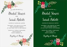 custom bridal shower invitations completely custom bridal shower invitations with basic invite