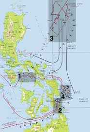 Combatant Command Map 65th Anniversary Of Leyte Gulf Steeljaw Scribe