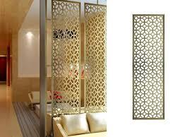 laser cutting home living furniture metal room divider decorative