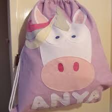 personalised teeny beanie nursery bags by teeny beanies ltd