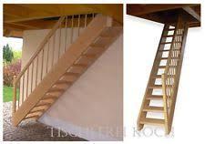 gerade treppe gerade treppe holztreppe raumspartreppe buche neu ebay