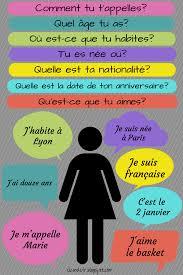 How To Pronounce Meme In French - questions réponses moi même moi meme pinterest teaching