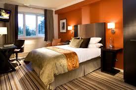 apartments amusing orange bedroom ideas walls bright paint teal