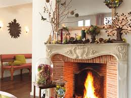 fireplace decorations for