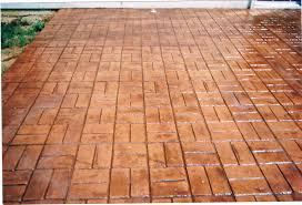 Basket Weave Brick Patio by Jbc Specialty Services