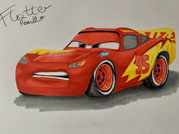cars 3 sally lightning mcqueen with new paint job from cars 3 by