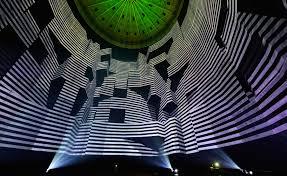 licht und design urbanscreen projects 320 degree licht within the gasometer oberhausen