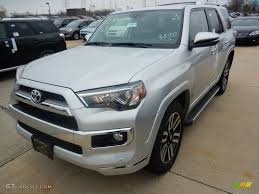 2017 toyota 4runner limited 2017 classic silver metallic toyota 4runner limited 4x4 119847397