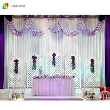 wedding backdrop curtains church style curtains decoration for wedding backdrop design buy