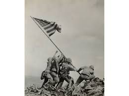 Iwo Jima Flag Raising Staged Getting Up Close And Personal With American Soldiers History
