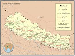 Road Map Of Italy by Large Detailed Political Map Of Nepal Nepal Large Detailed