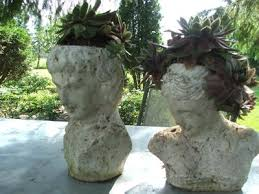 love these head planters so elegant make different u0027hair