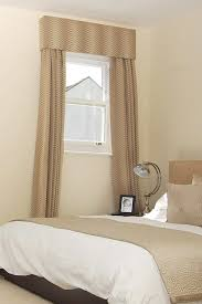 Small Window Curtain Designs Designs Fascinating Soft Color Bedroom Curtains For White Wooden Small