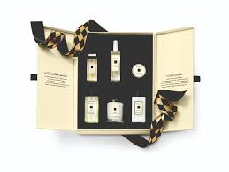 jo malone makes merry with harlequin visuals