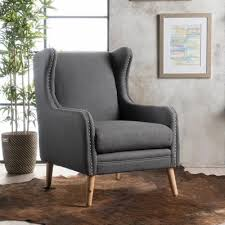 Outdoor Wingback Chair Ivy Bronx Coombs Wingback Chair U0026 Reviews Wayfair