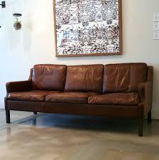 Vintage Danish Brown Leather Sofa At Stdibs - Danish sofas