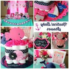 baby shower anchor theme omg obsessed pink and blue anchor and whale themes baby shower