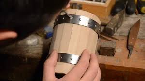 wooden beer mug the making of youtube