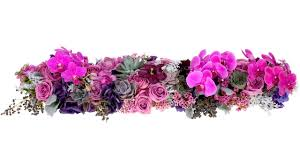 Table Flowers by Feasting Table Floral Runner Youtube