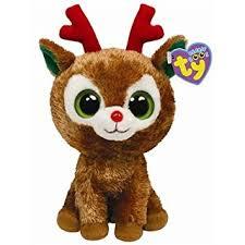 amazon ty beanie boos comet reindeer toys u0026 games