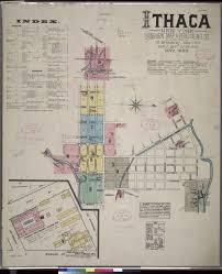 Ithaca Ny Map Sanborn Fire Insurance Maps Ithaca Ny Olin U0026 Uris Libraries
