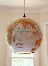 Globes For Ceiling Lights World Globe L Shade Light Roselawnlutheran 9 2 Better Ls 12