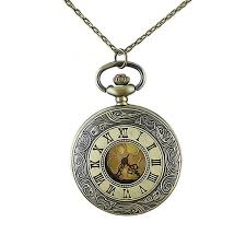 vintage necklace watch pendant images Vintage jewelry watch pendant necklace roman numerals fashion jpg