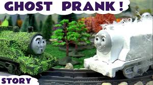 funny halloween pranks thomas and friends spooky ghost prank halloween toy trains tom