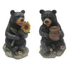 lawn ornaments 54 best bears images on black