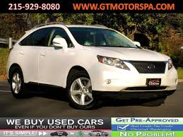 lexus cars 2011 2011 used lexus rx 350 awd with navigation at gt motors pa serving