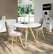 dining elan round wood base round extending dining table perfect