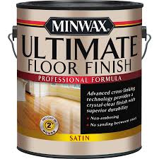 shop minwax satin water based 128 fl oz polyurethane at lowes com