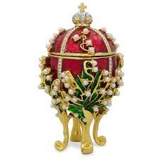 Diamond Trellis Egg Faberge Egg Ebay