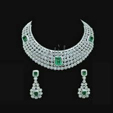 diamond set diamond necklace set in rajkot gujarat manufacturers suppliers