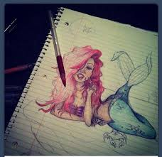 62 ariel obsession images drawings