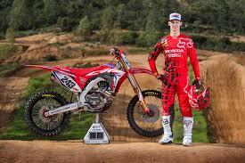 honda motocross racing gajser and his 2017 honda hrc gariboldi crf450rw first look