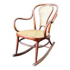 Cane Rocking Chair Vintage U0026 Used Tan Rocking Chairs Chairish
