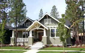 craftsman country house plans house plans with front porch craftsman style single story house