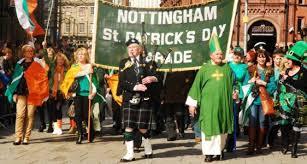 nottingham st patricks day st patricks day 2017 festival in