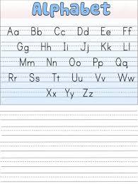 english alphabet worksheet for kindergarten activity shelter music