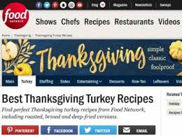 10 websites with best turkey recipes for thanksgiving