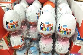 kinder suprise egg bring home a kinder egg and you could be fined 2500