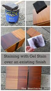 Diy Gel Stain Kitchen Cabinets 106 Best Diy Staining Wood I E Kitchen Cabinets Etc Images On