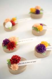 wedding flowers for guests adorable diy fall paper flower favors for your wedding guests