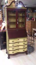 brass key secretary desk mahogany secretary desk ebay