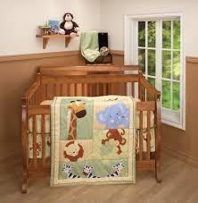 Cheetah Print Crib Bedding Forest Tales Crib Bedding Set Trend Lab Animal Safari Baby