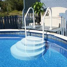 wedding cake pool steps wedding cake stairs for above ground pool icetsinfo