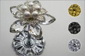 Window Treatment Hardware Medallions - crystal drapery hardware in toronto curtain finials u0026 holdbacks